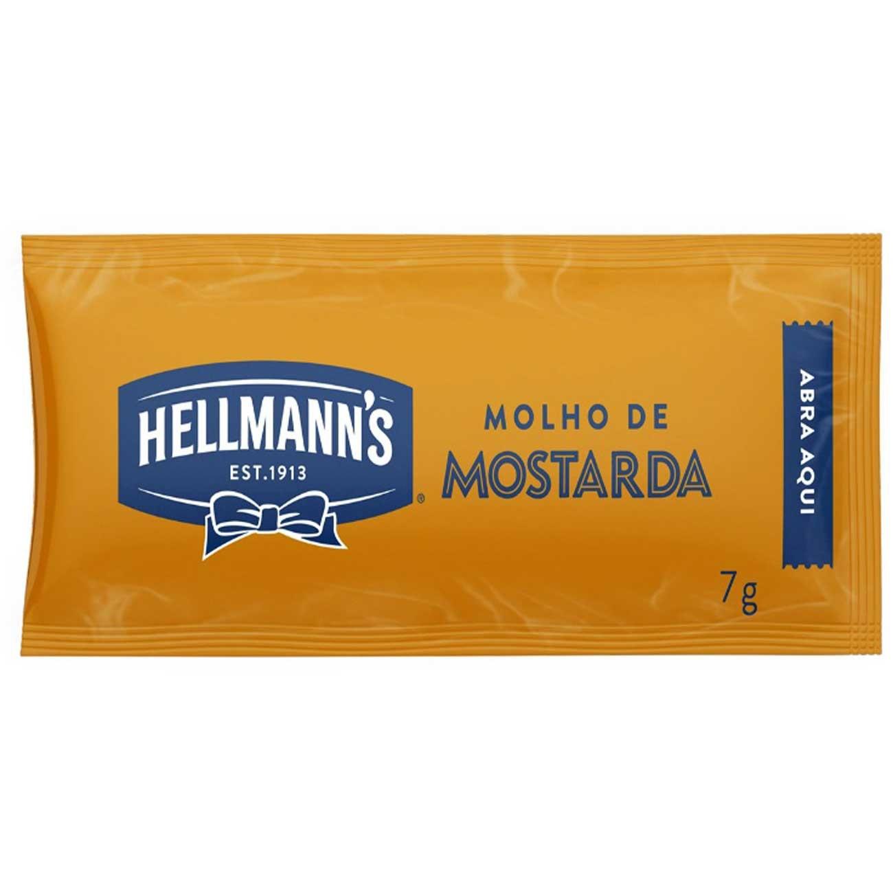 Mostarda Hellmann's Sache7 g | 1 unidades
