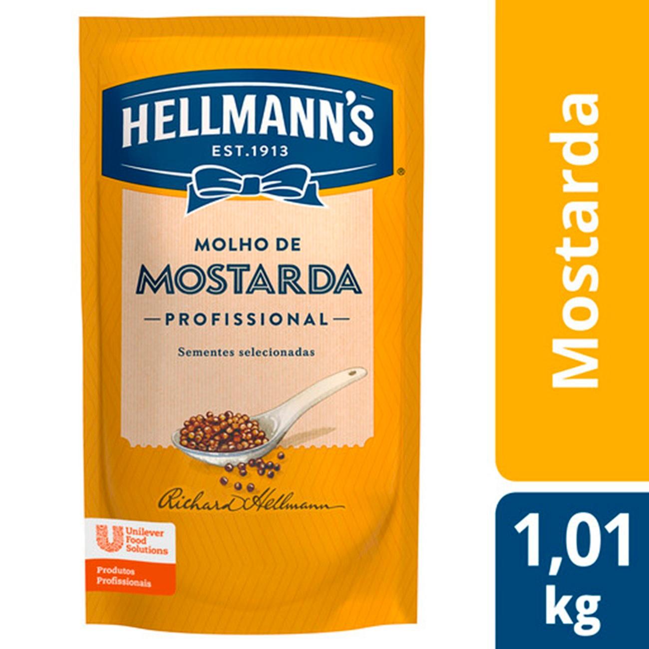 Mostarda Hellmanns Doypack 1,01kg | 1 unidade