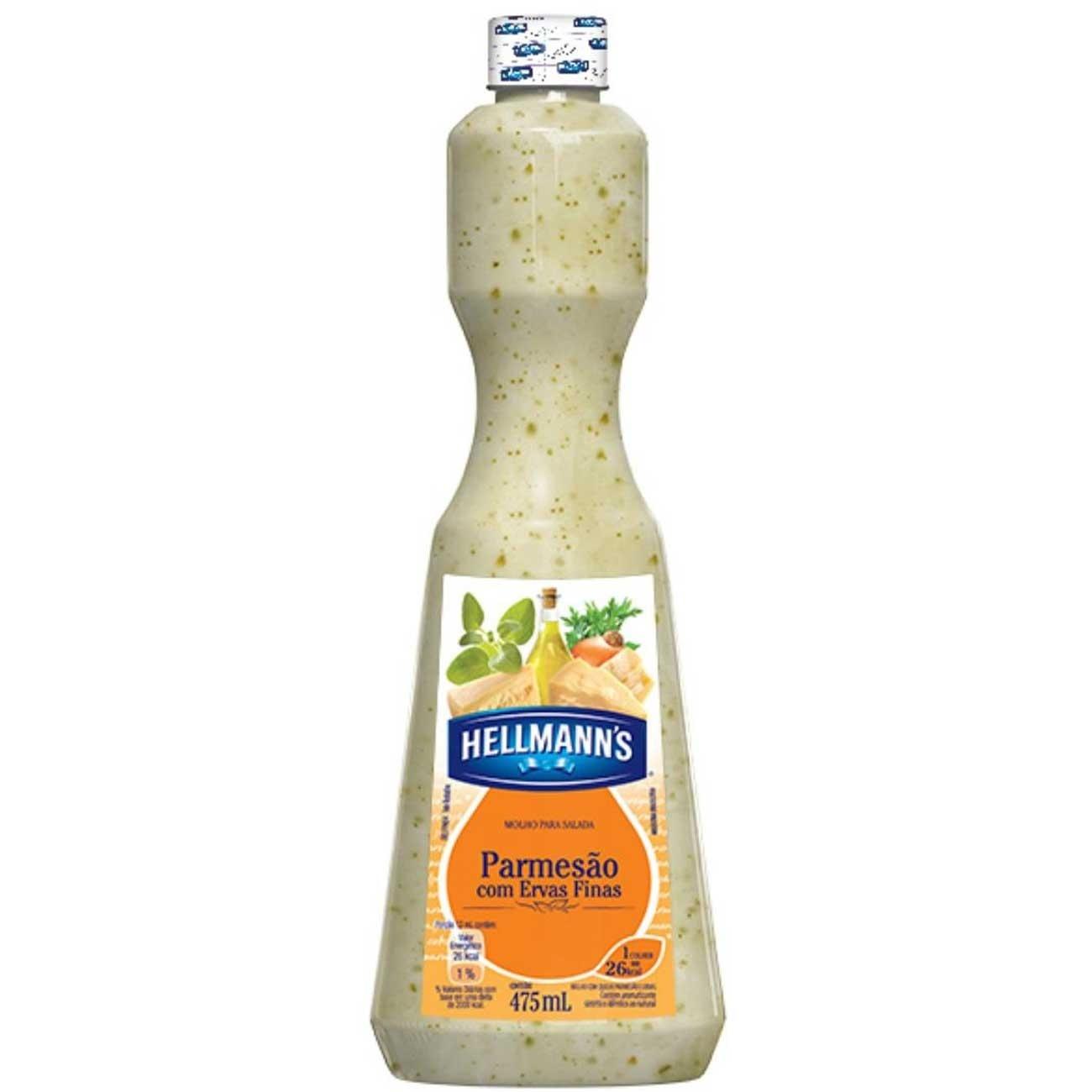 Molho para Salada Hellmann's Parmesão 475ml | 1 unidades