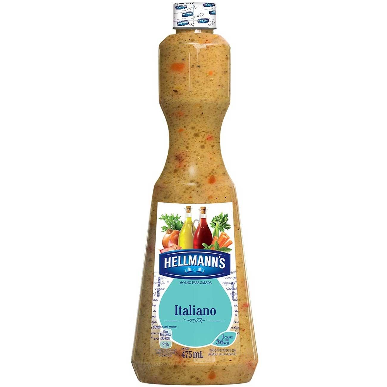 Molho para Salada Hellmann's Italiano 475ml | 1 unidades