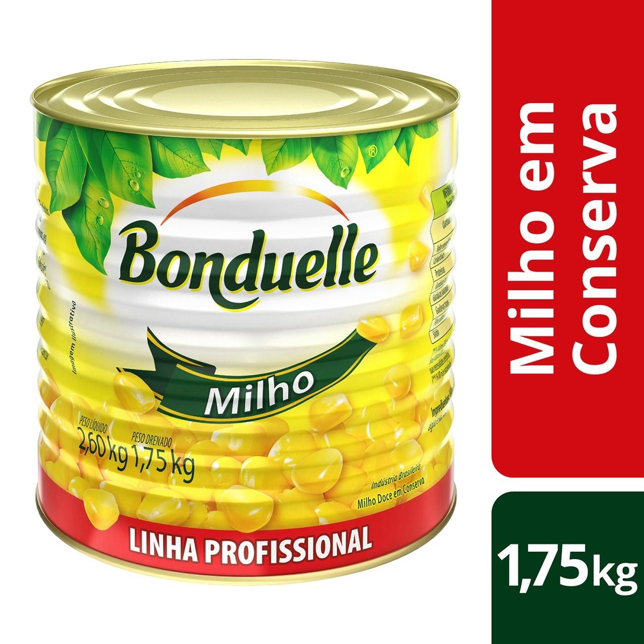 Milho em Conserva Bonduelle  1,75kg | 1 unidades