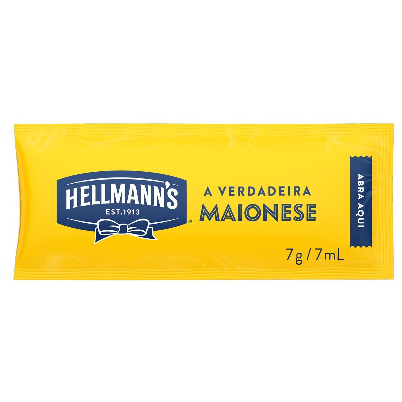 Maionese Sache Hellmann's 7g l 168 Unidades