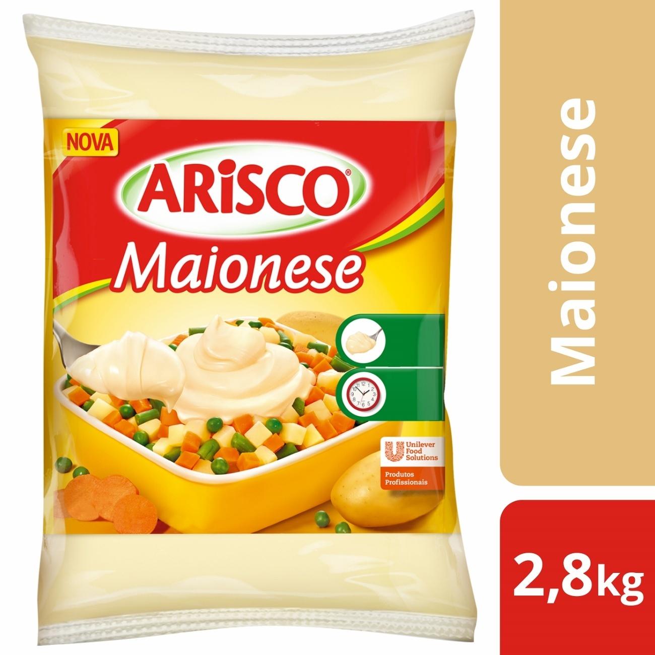 Maionese Arisco Bag 2,8kg | 1 unidades