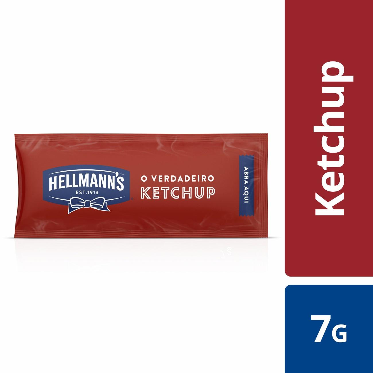 Ketchup Hellmann's Sache 7g |168 unidades