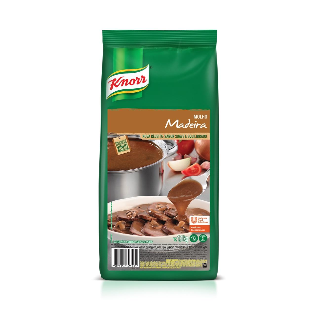Base em Pó Para Preparo Knorr Molho Madeira 1,1kg | 1 unidades