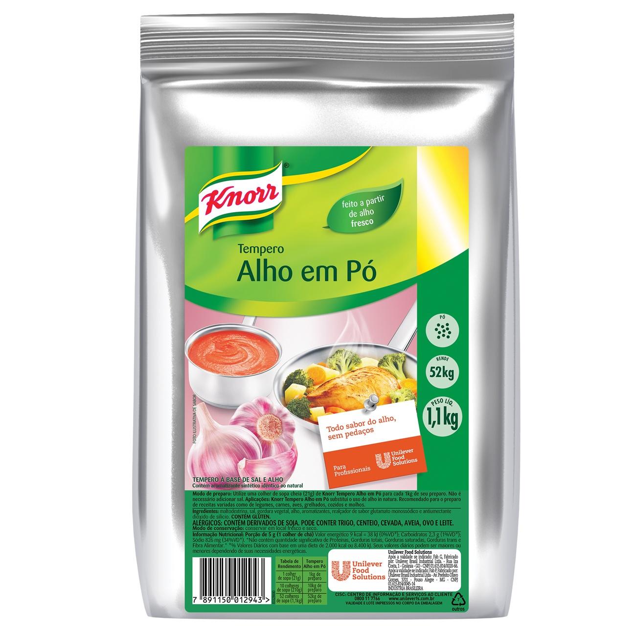 Tempero Knorr 1,1kg