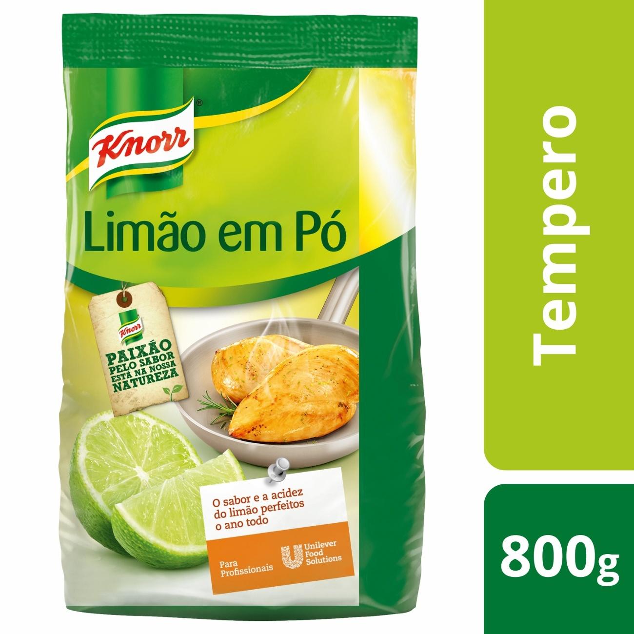 Tempero Limão em Pó Knorr 800g