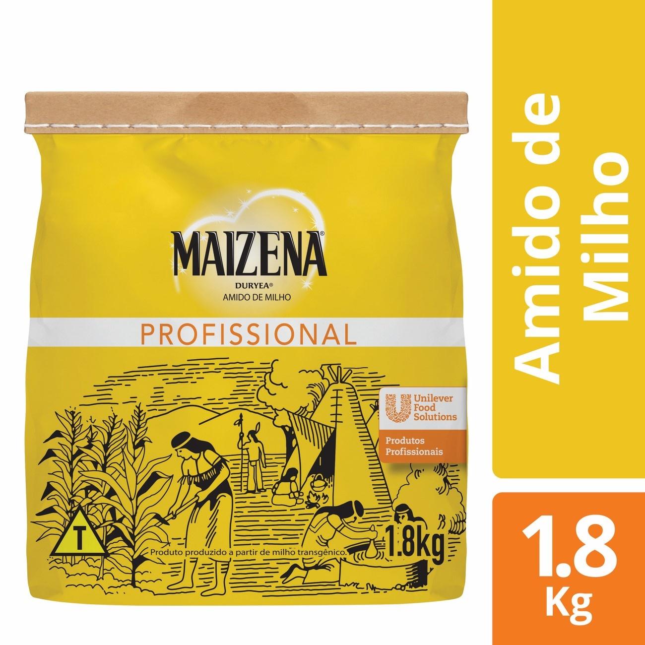 Amido de Milho Maizena 1,8kg | 1 unidades