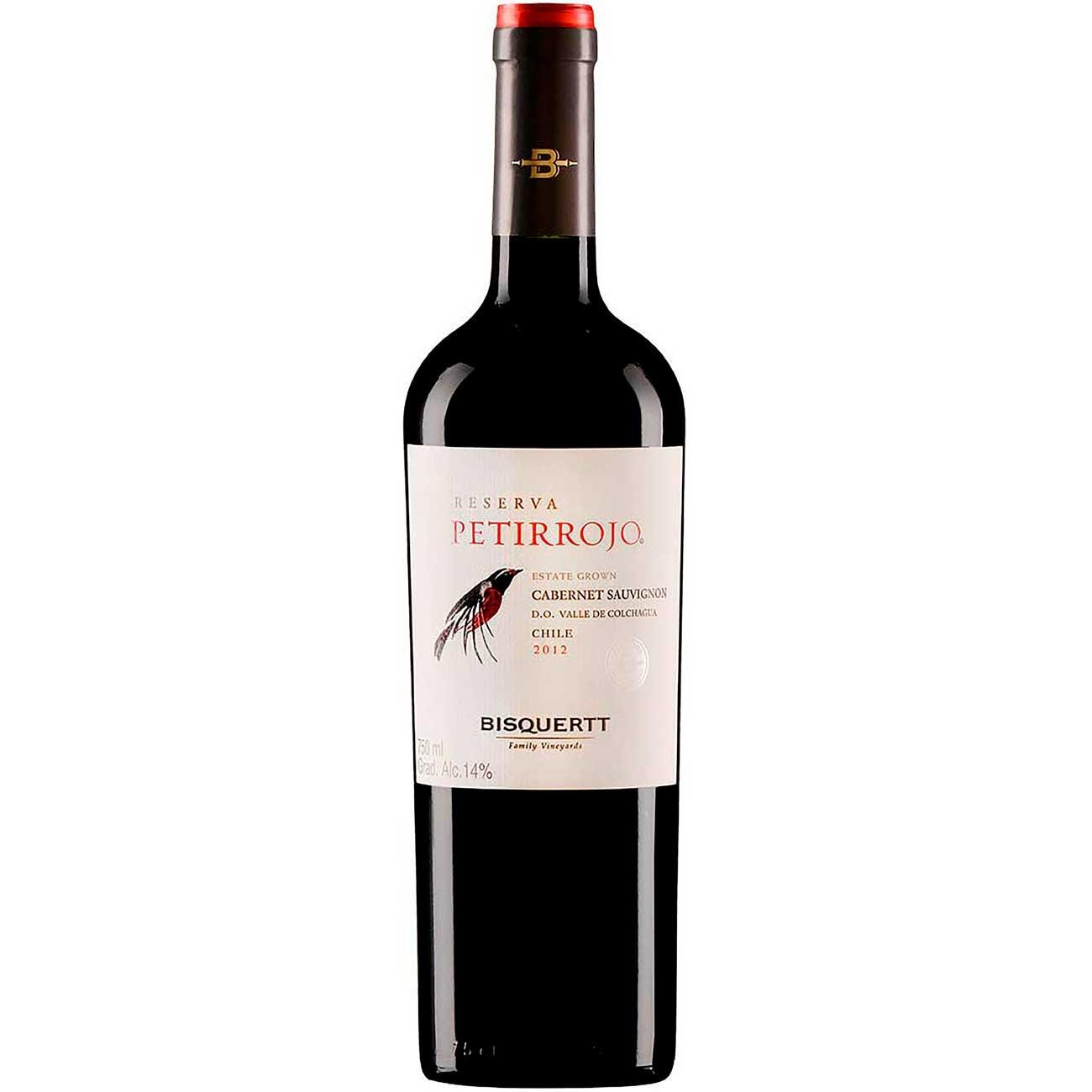 Vinho Chileno Petirrojo Tinto Cabernet Sauvignon 750ml