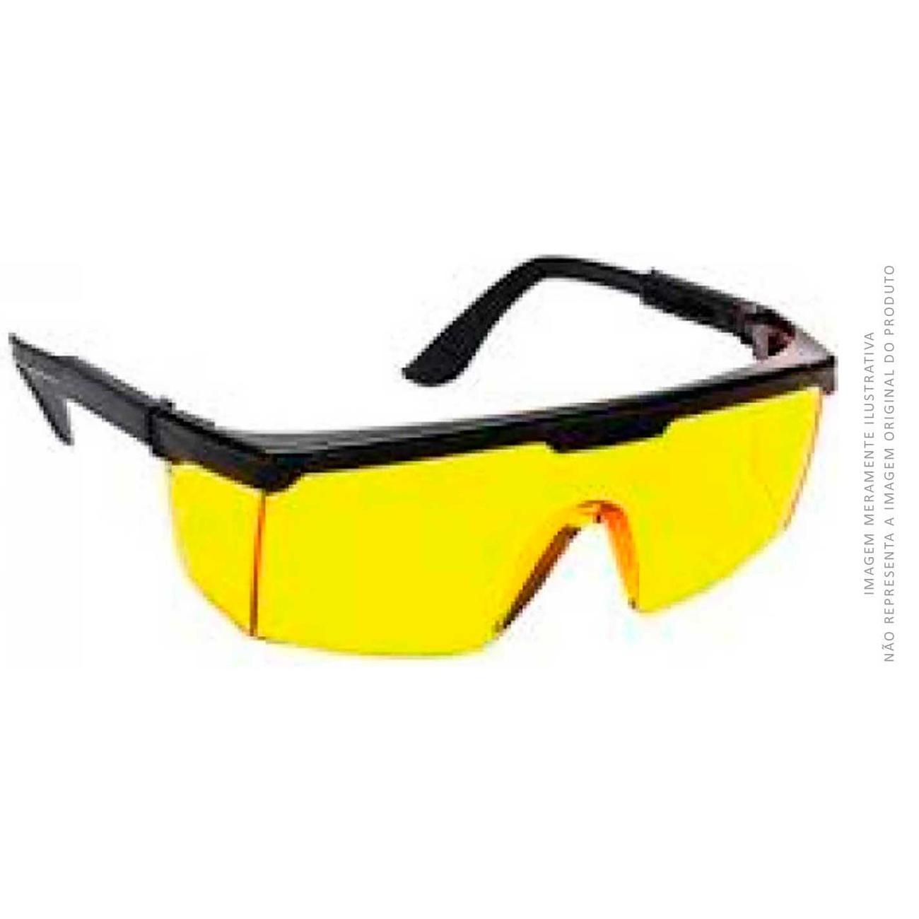 Óculos De Proteção Danny Fênix Ambar | Caixa com 12 unidades
