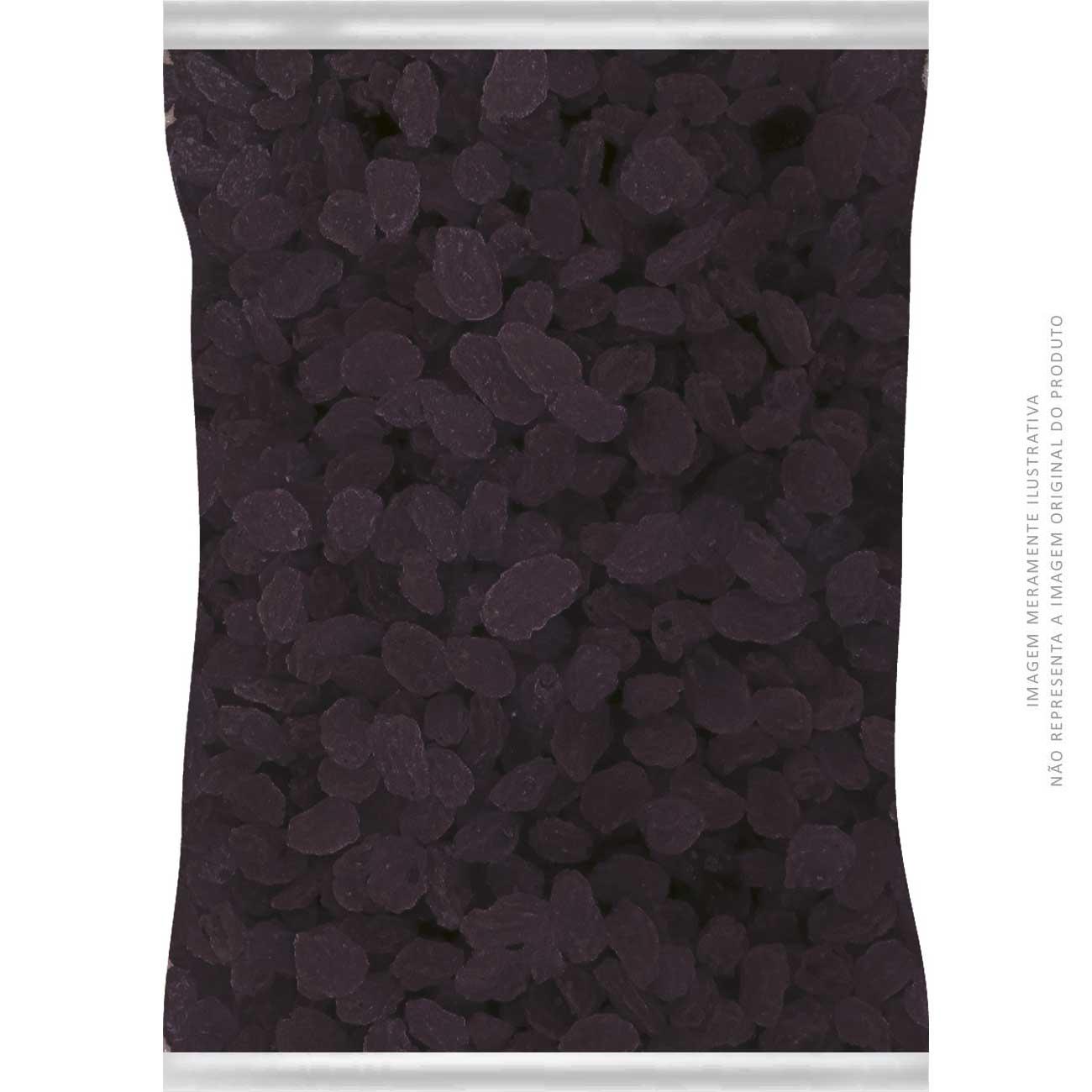 Uva Passa Escura Dunorte Sem Caroço 1,005kg
