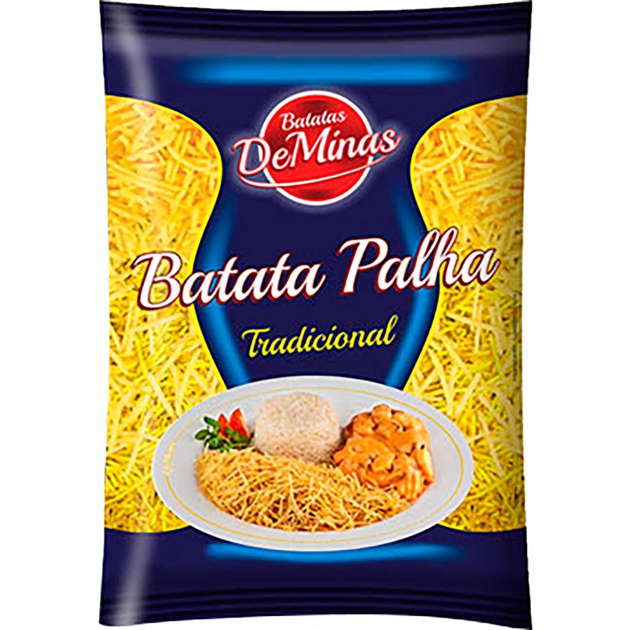 Batata Palha De Minas 200g | Caixa com 35 unidades
