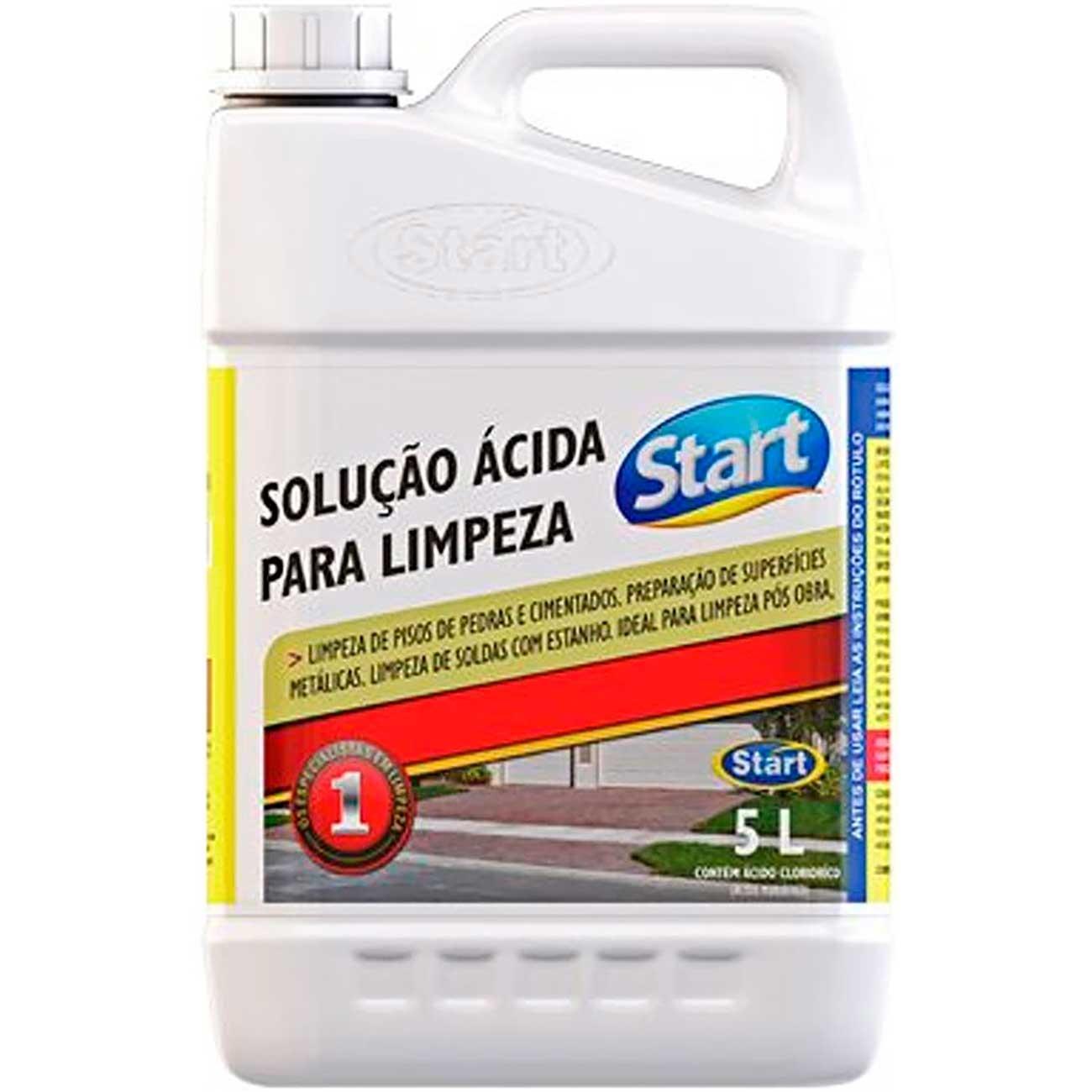 Solução Ácida Start P/Limpeza Pesada 5L