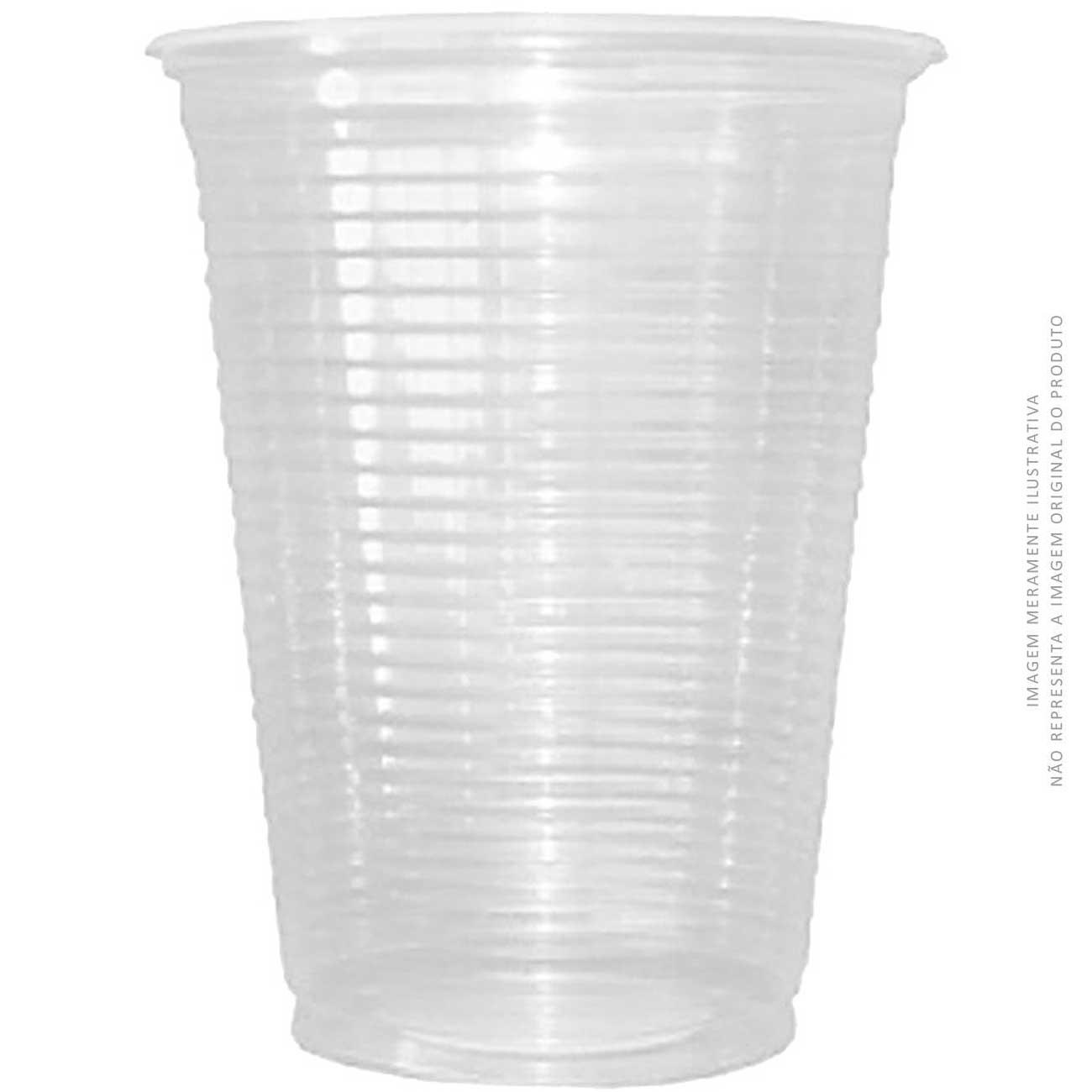 Copo Descartável Dixie Transparente 300ml Pp | Caixa com 20 unidades