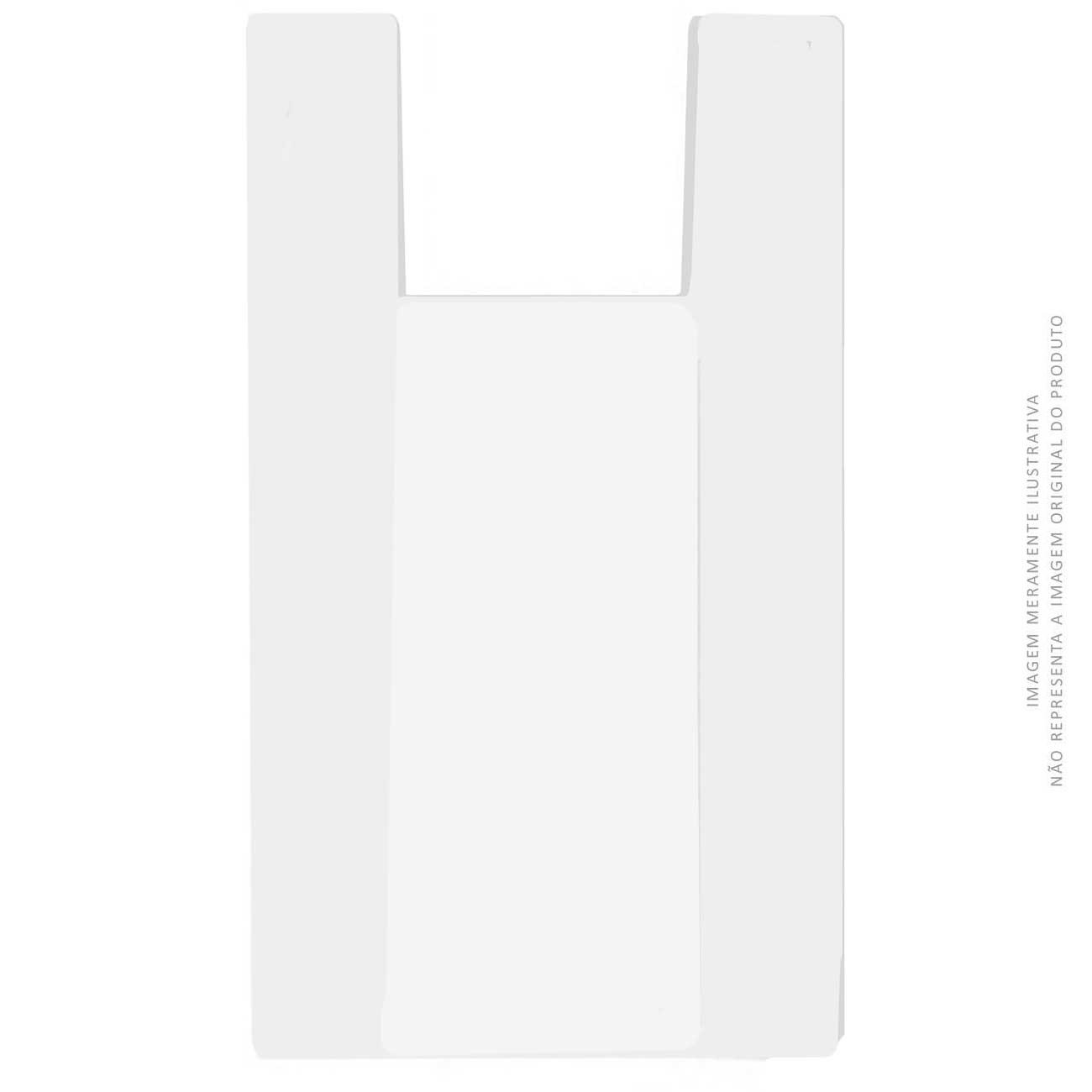 Sacola Plástica Forteplas Branca 50 x 60 | Caixa com 500 unidades