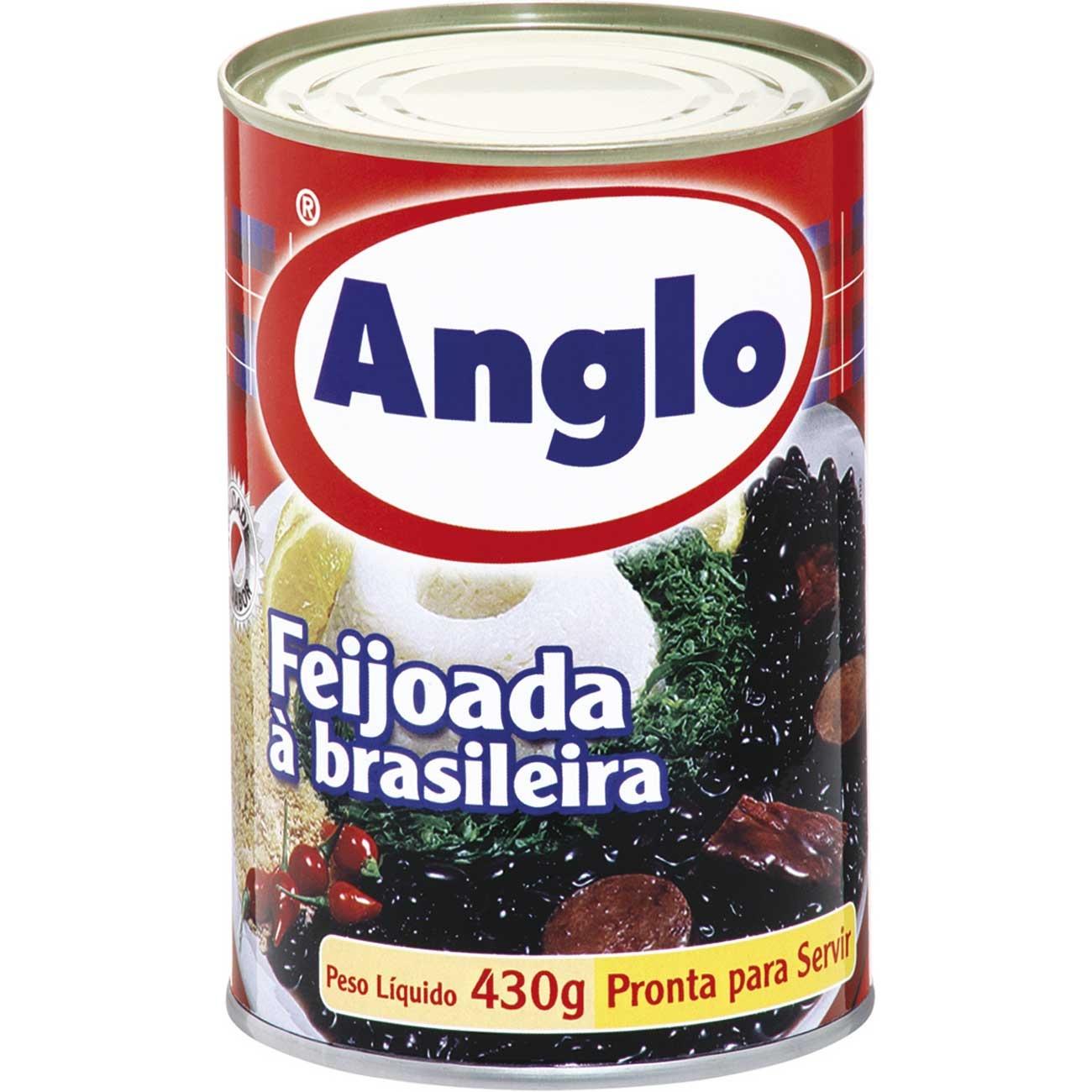 Feijoada Anglo À Brasileira Lata 430g | Caixa com 24 unidades