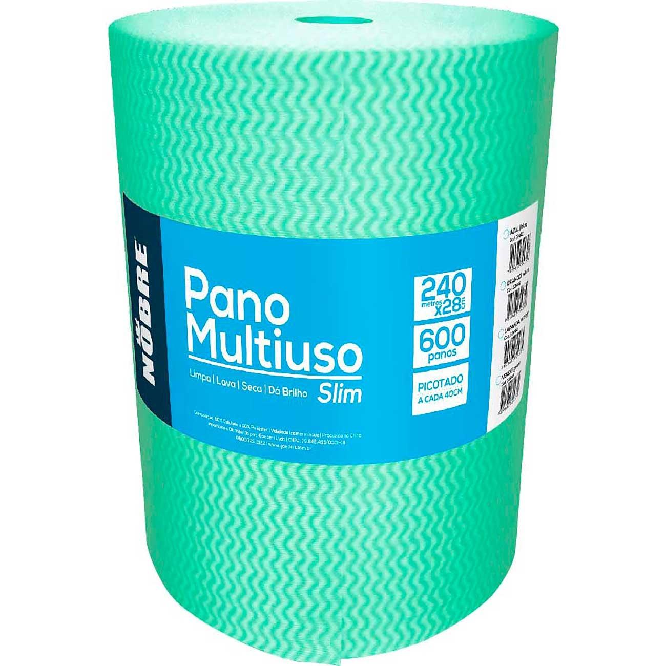 Pano MuLiuso Rolo Nobre Verde 240Mx28cm
