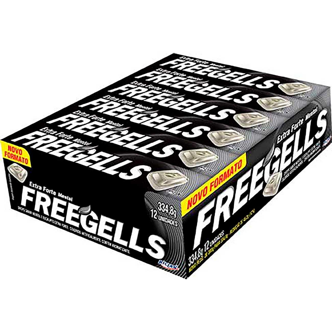 Drops Freegells Extra-Forte   Caixa com 12 unidades
