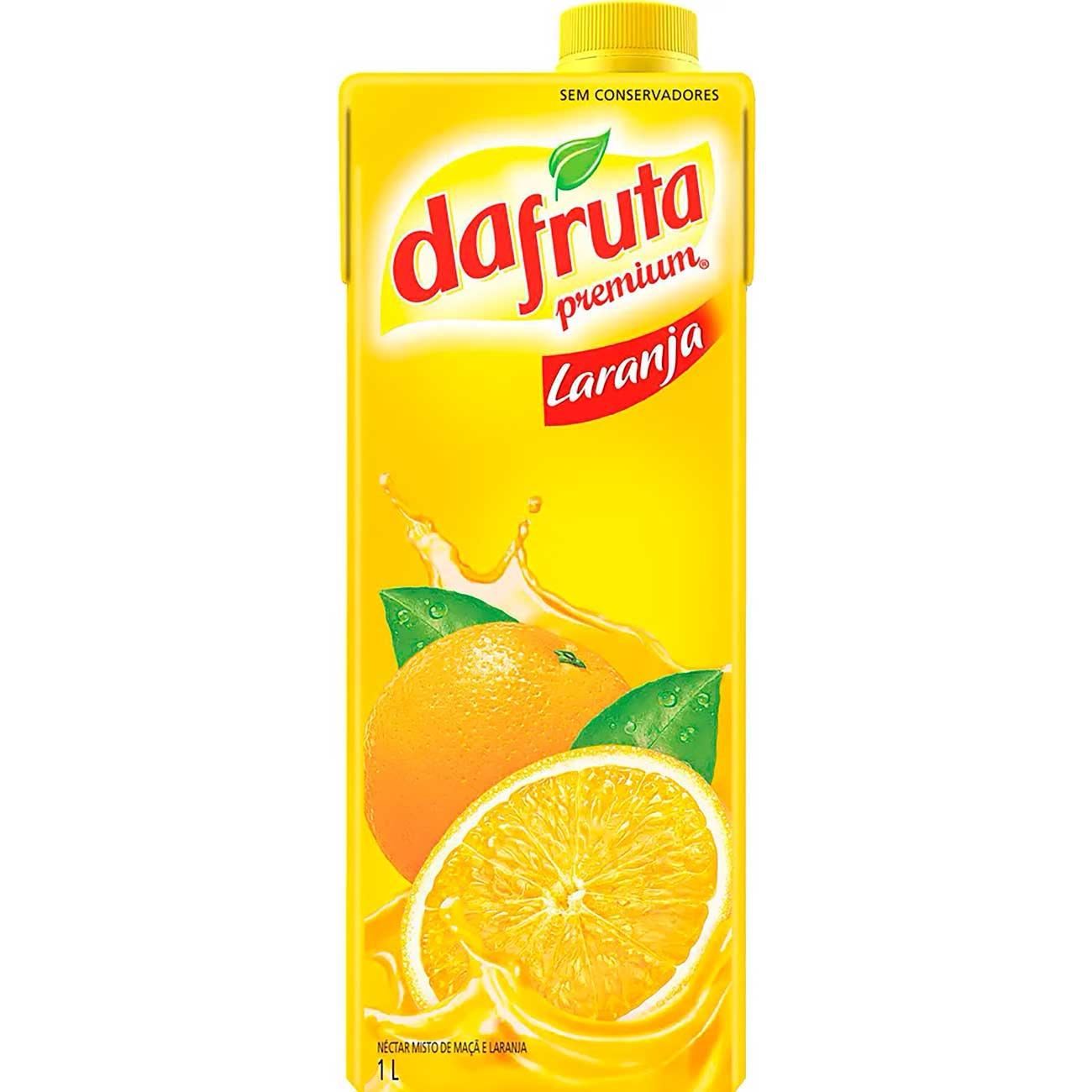 Suco Dafruta Laranja Tp 1L | Caixa com 12 unidades