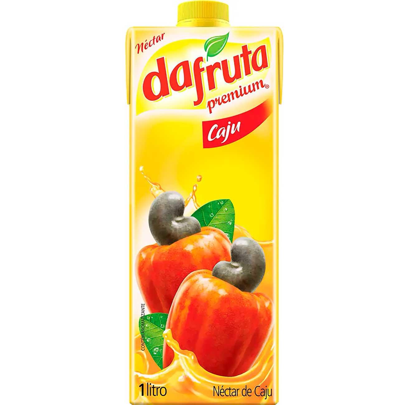 Suco Dafruta Caju Tp 1L | Caixa com 12 unidades