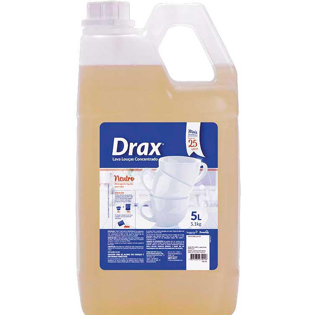 Detergente L�quido Drax Concentrado 5L
