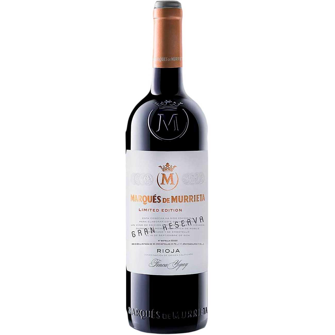 Vinho Espanhol Marqu�s De Murrieta Tinto gan Reserva 750ml