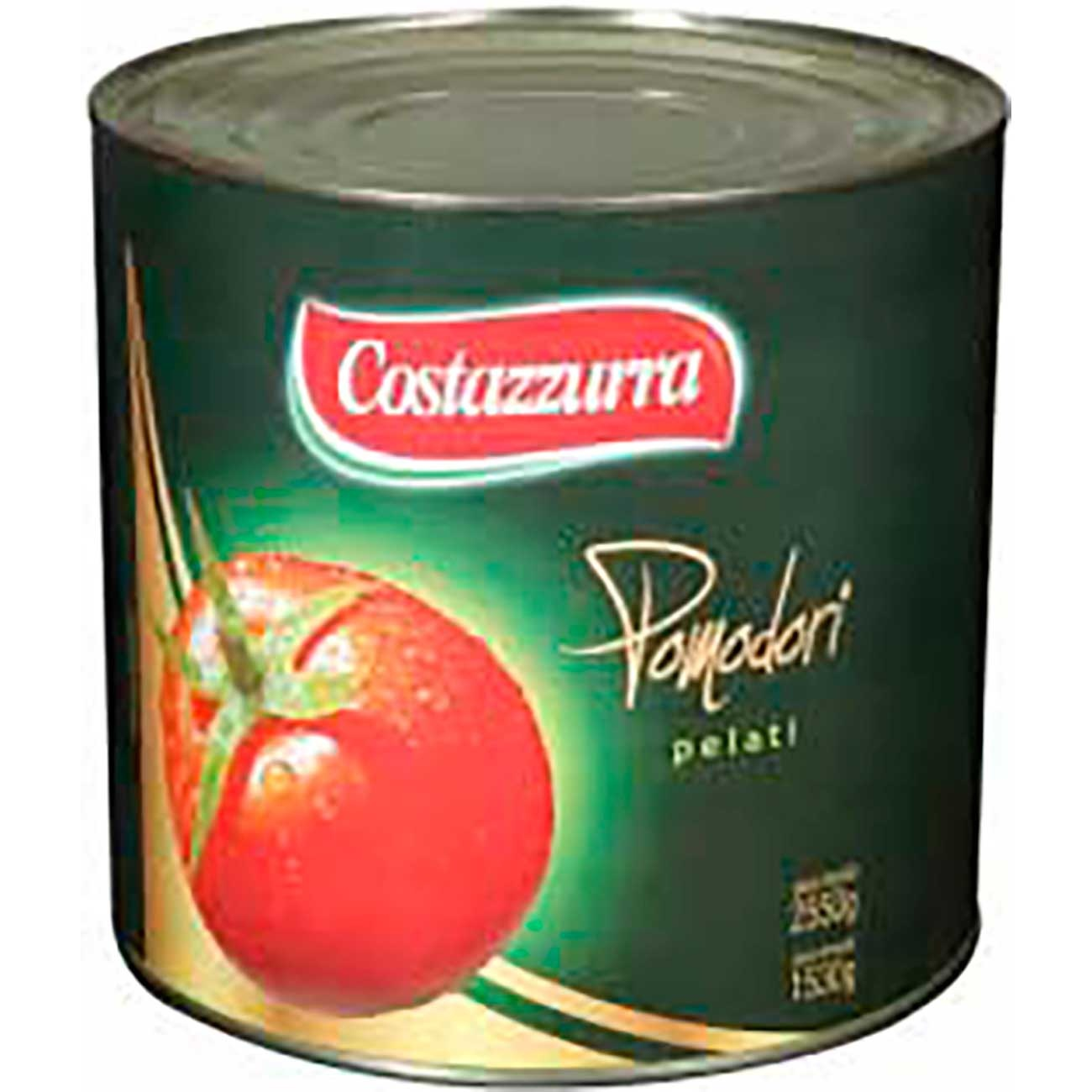 Tomate Pelado Costazzurra Pomodori 2,550kg