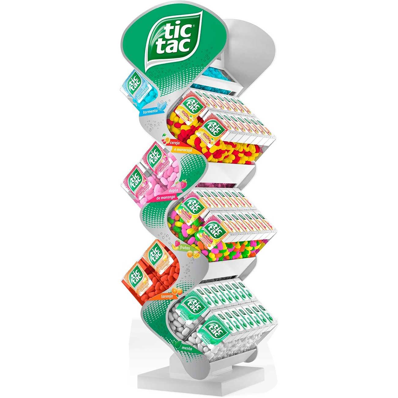 Pastilhas Tic Tac Mini �rvore 16g | Caixa com 42 unidades