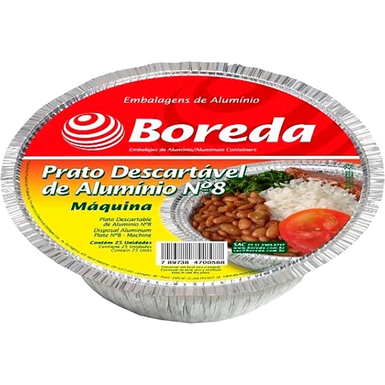 Marmitex Boreda N�9 1,15L   Com 100 Unidades - M�quina