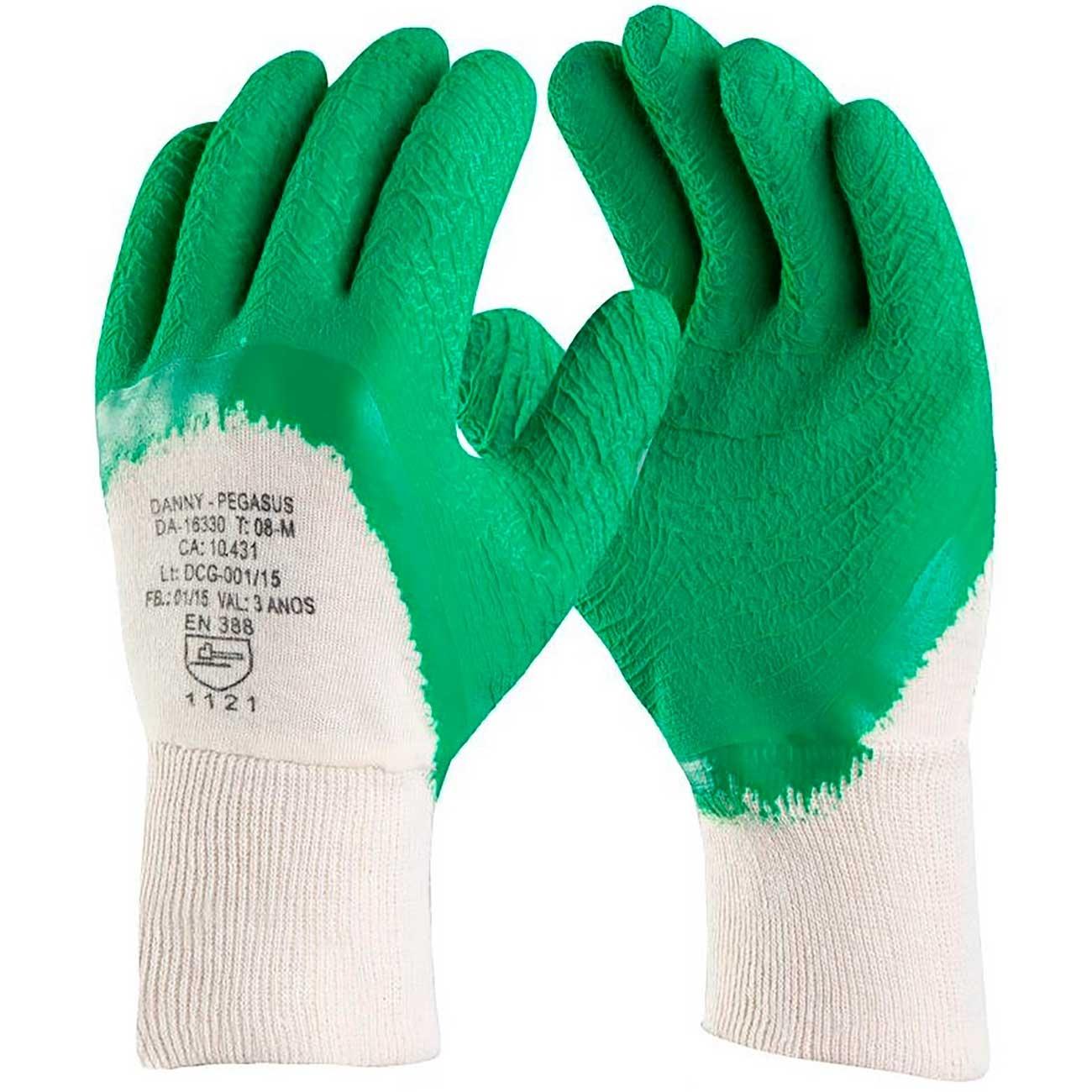 Luva De Seguran�a Danny Maxigip Verde