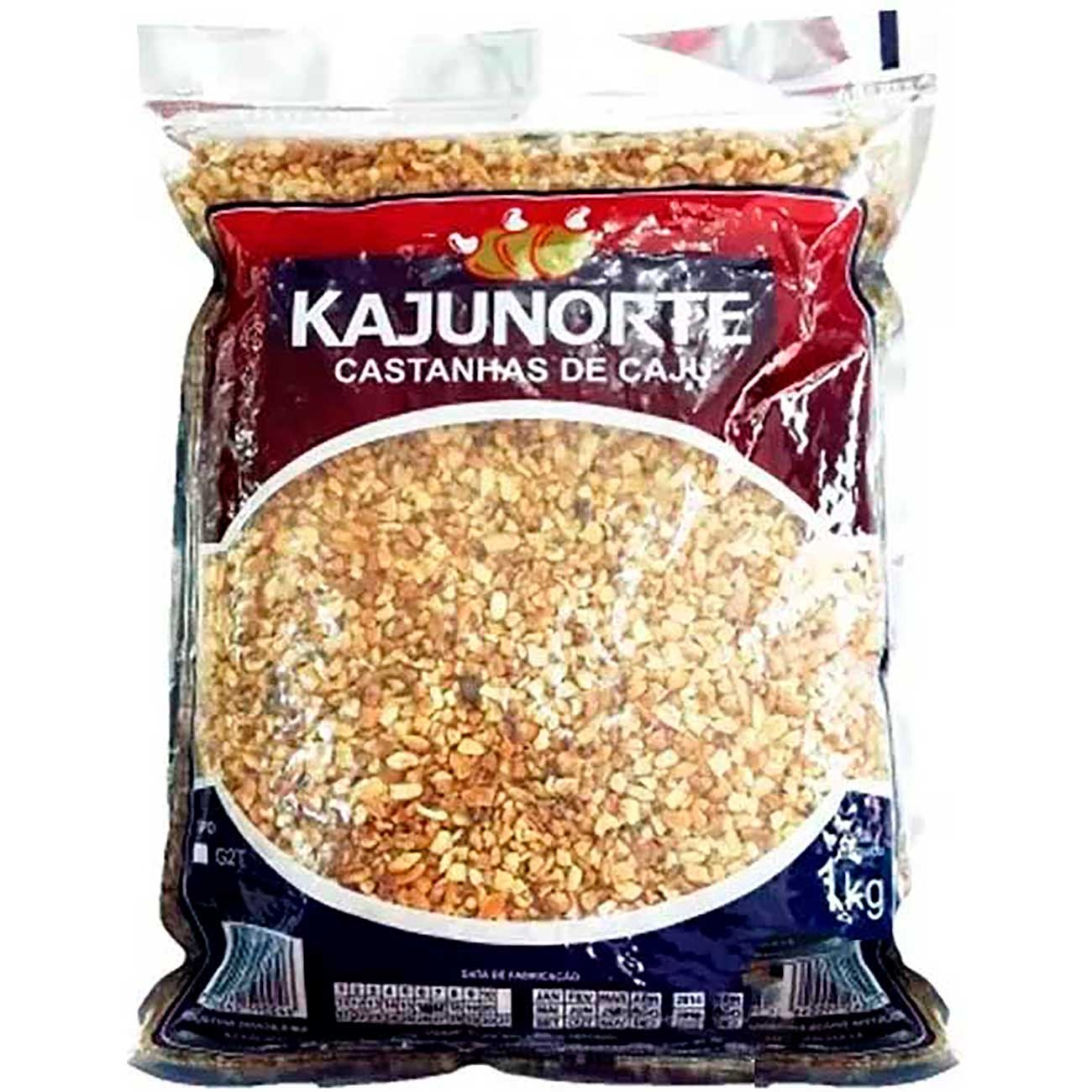 Castanha De Caju Kajunorte ganulado Tipo x2T 1kg