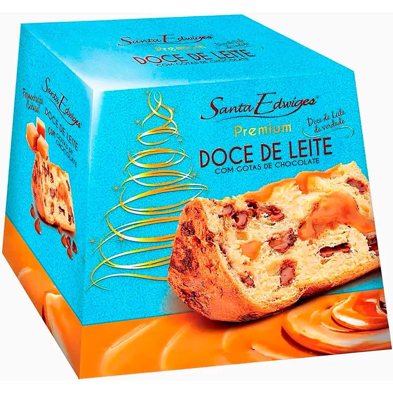 Panettone Santa Edwiges Doce De Leite 500g