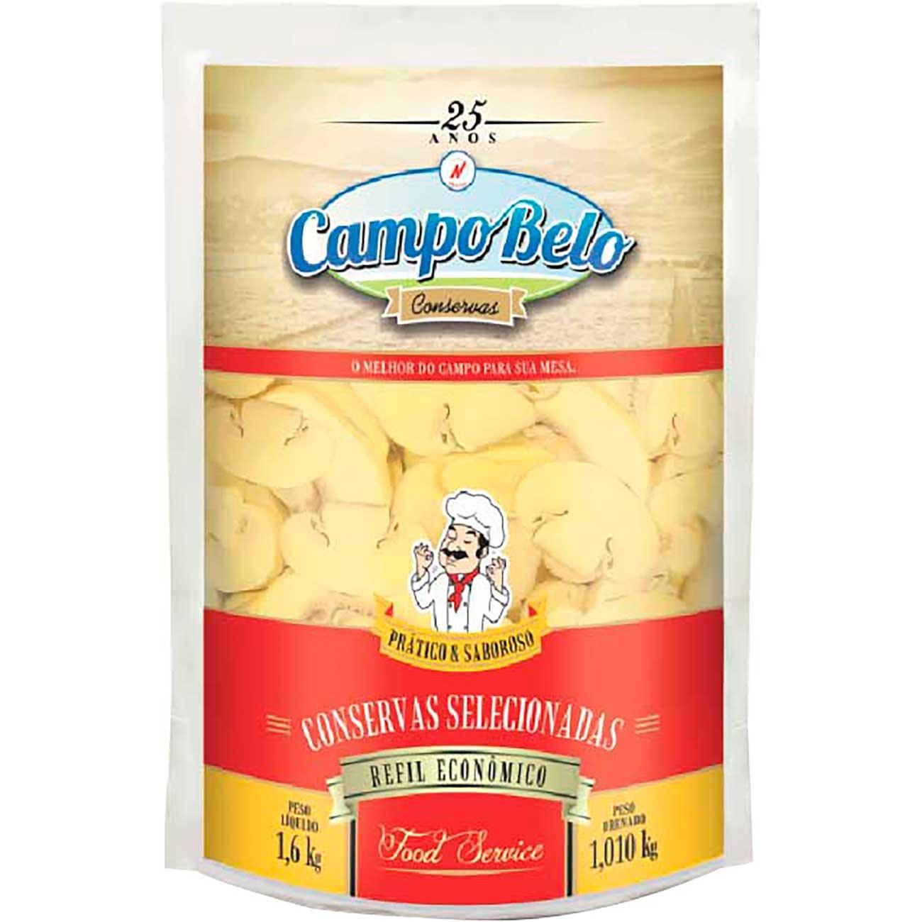 Cogumelo Campo Belo Fatiado Sach� 1.01kg