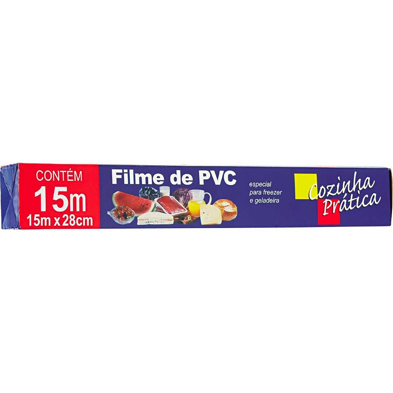 Filme De Pvc Pr�tica 15 x 28m | Caixa com 12 unidades