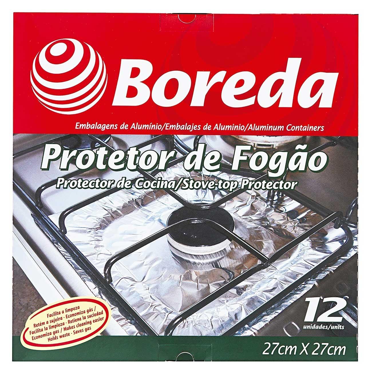 Forra Fog�o Boreda 27 x 27cm | Caixa com 14 unidades