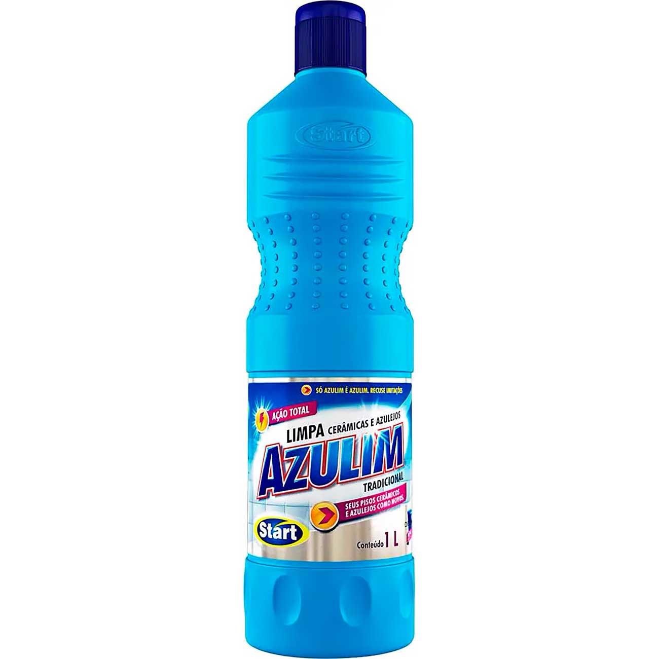 Limpa Cer�mica Azulim 1L | Caixa com 12 unidades