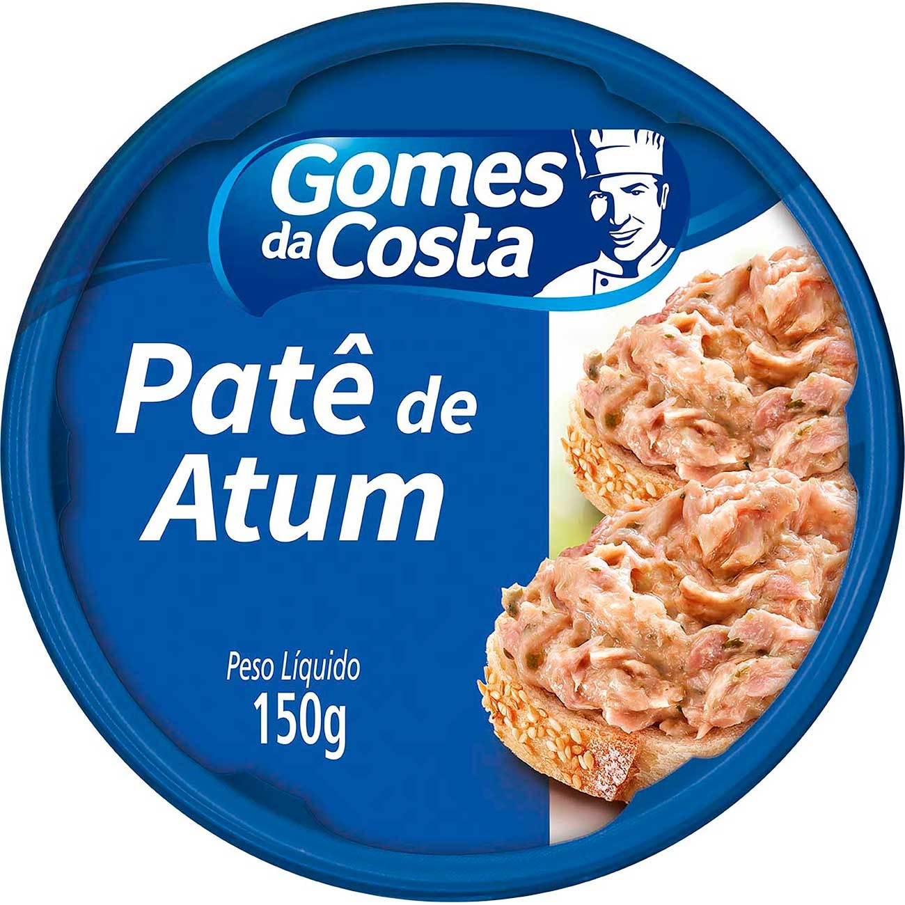 Pat� De Atum Gomes Da Costa Tradicional 150g | Caixa com 10 unidades