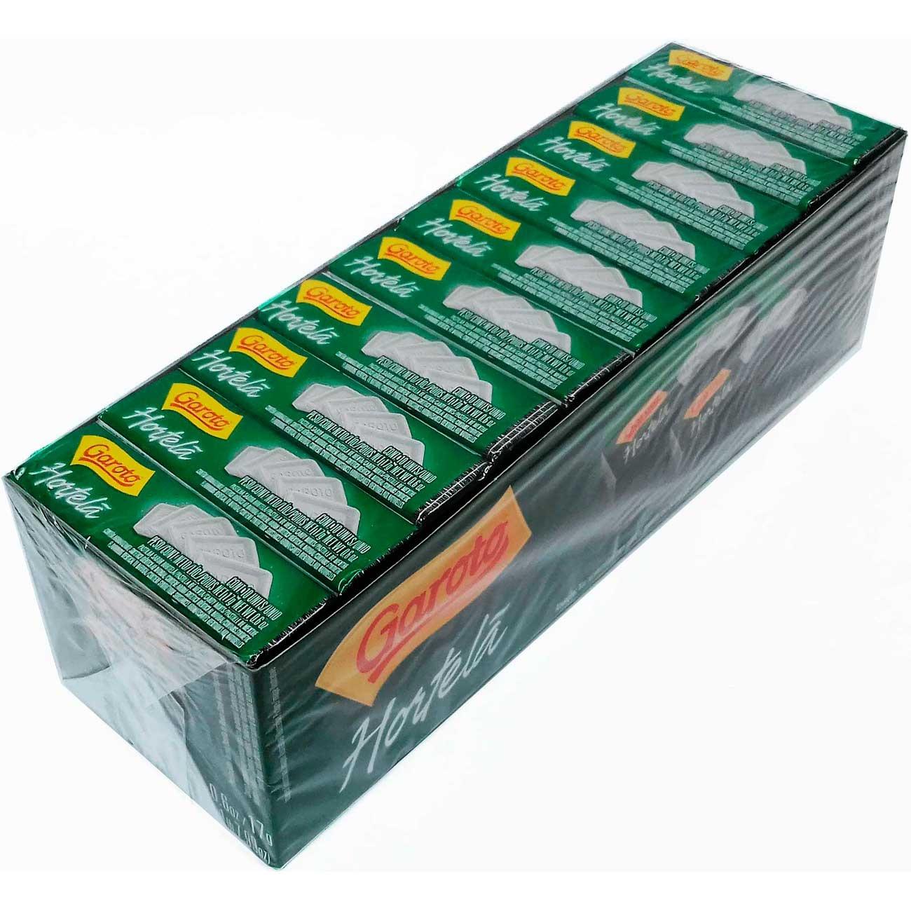 Pastilhas Garoto Hortel� Extra Forte 17g | Caixa com 40 unidades