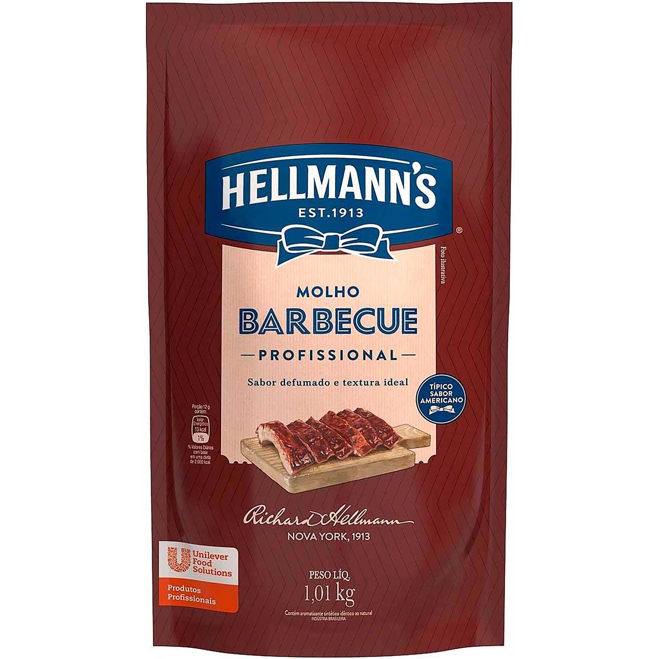 Molho Barbecue Hellmann's Profissional 1,01kg