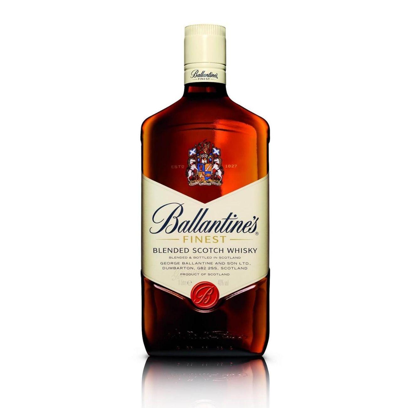 Ballantine's Finest Whisky Escocês 1L