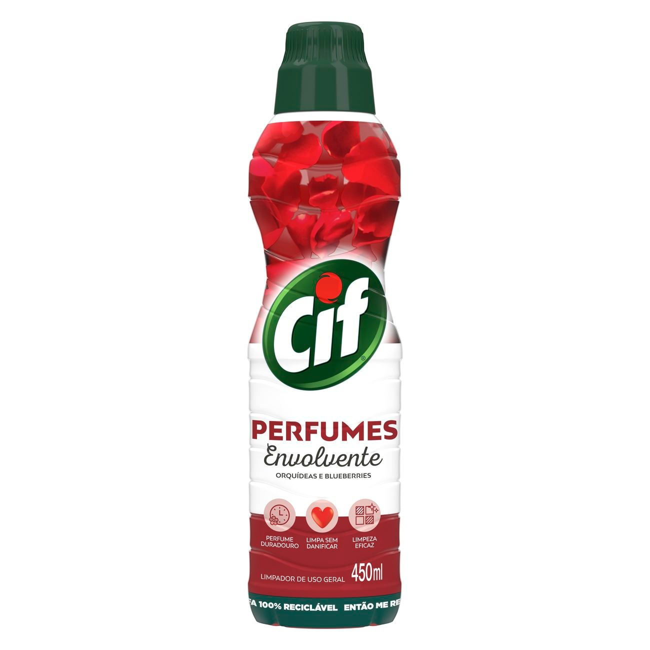 Limpa Pisos Cif Perfumes Envolvente 450mL