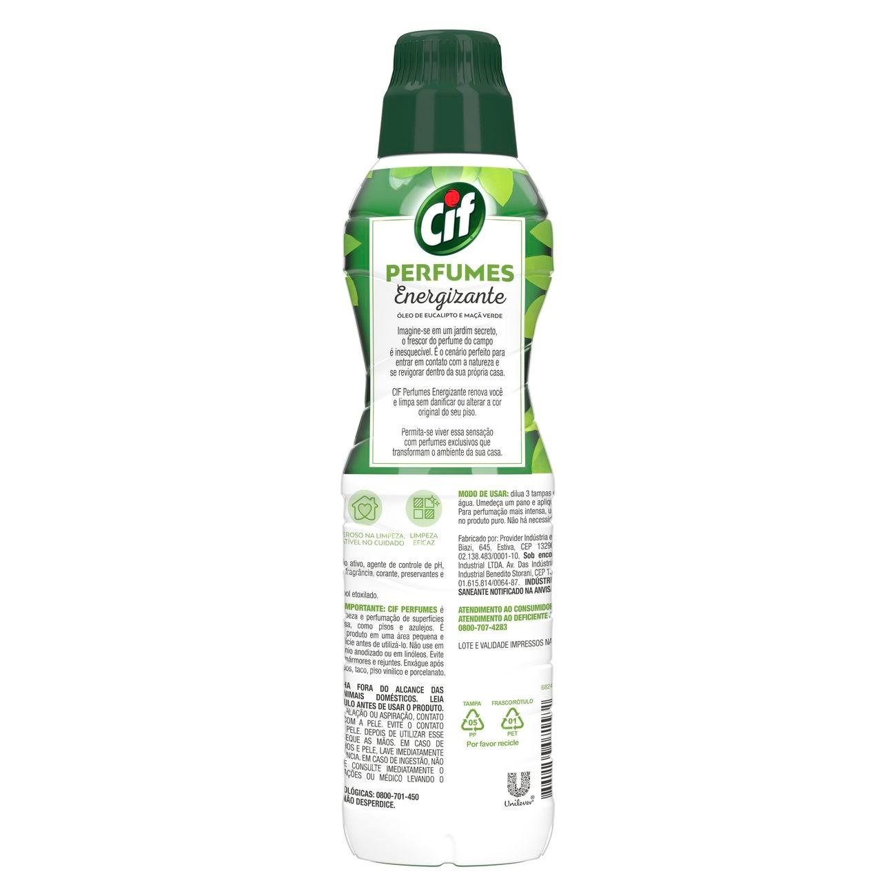 Limpa Pisos Cif Perfumes Energizante 450mL