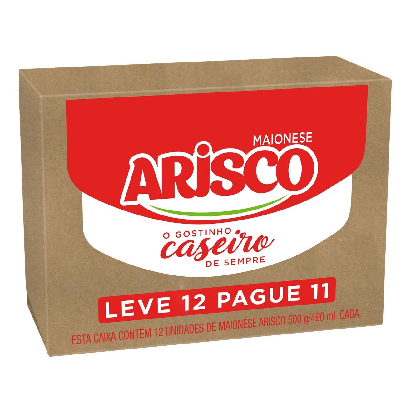 Oferta Maionese Arisco Tradicional 500g