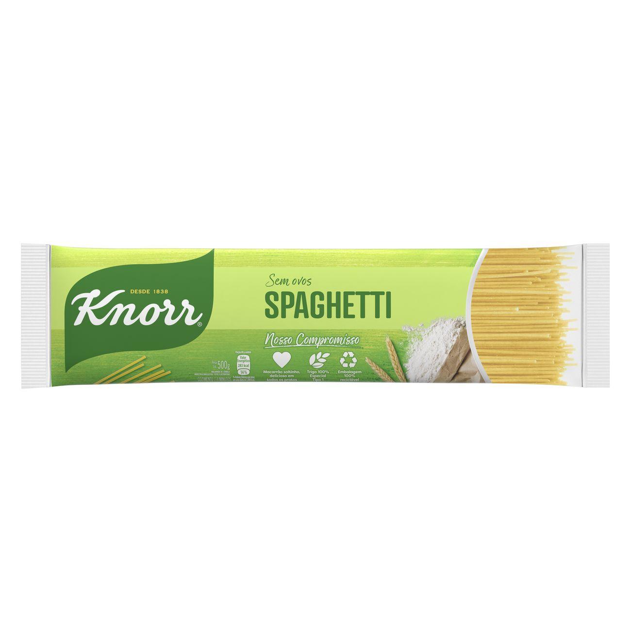 Macarrão Spaghetti Knorr Sêmola 500g