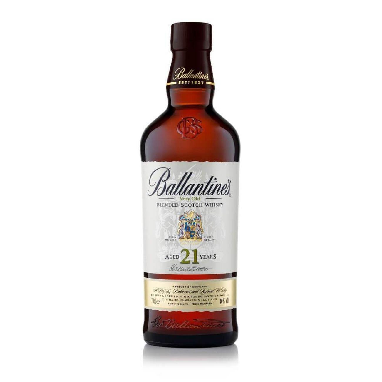 Ballantine's Whisky 21 anos Escocês 700mL
