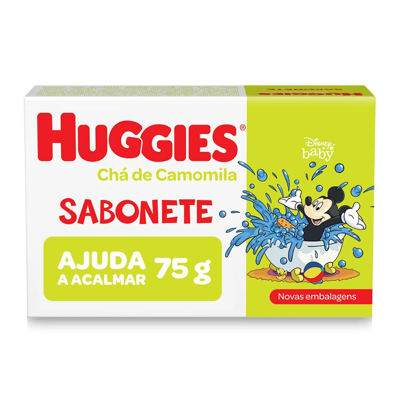 Sabonete Barra Infantil Huggies Camomila 75g