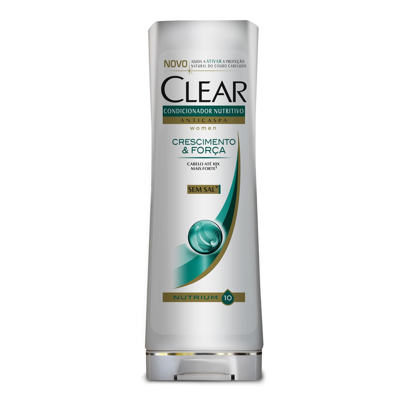 Condicionador Anticaspa CLEAR Women Crescimento e For�a 200ml