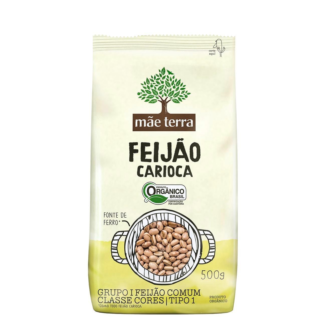 Feijão Carioca Orgânico Mãe Terra 500g