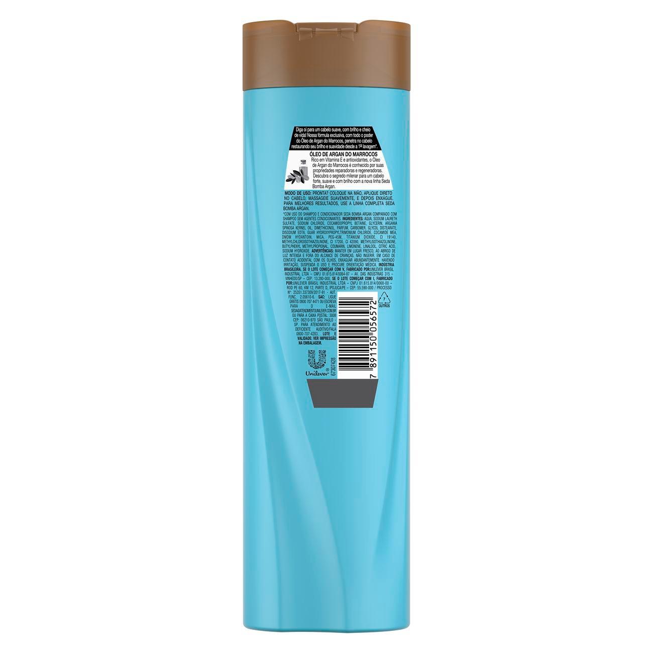 Shampoo Seda Bomba de Argan 325ml