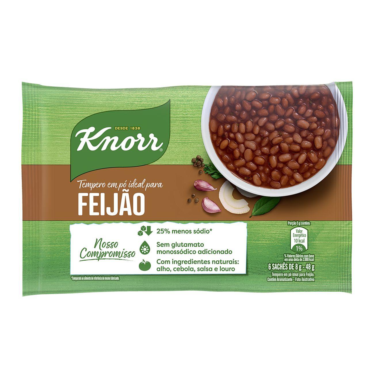 Tempero em Pó Knorr Ideal para Feijão 48g